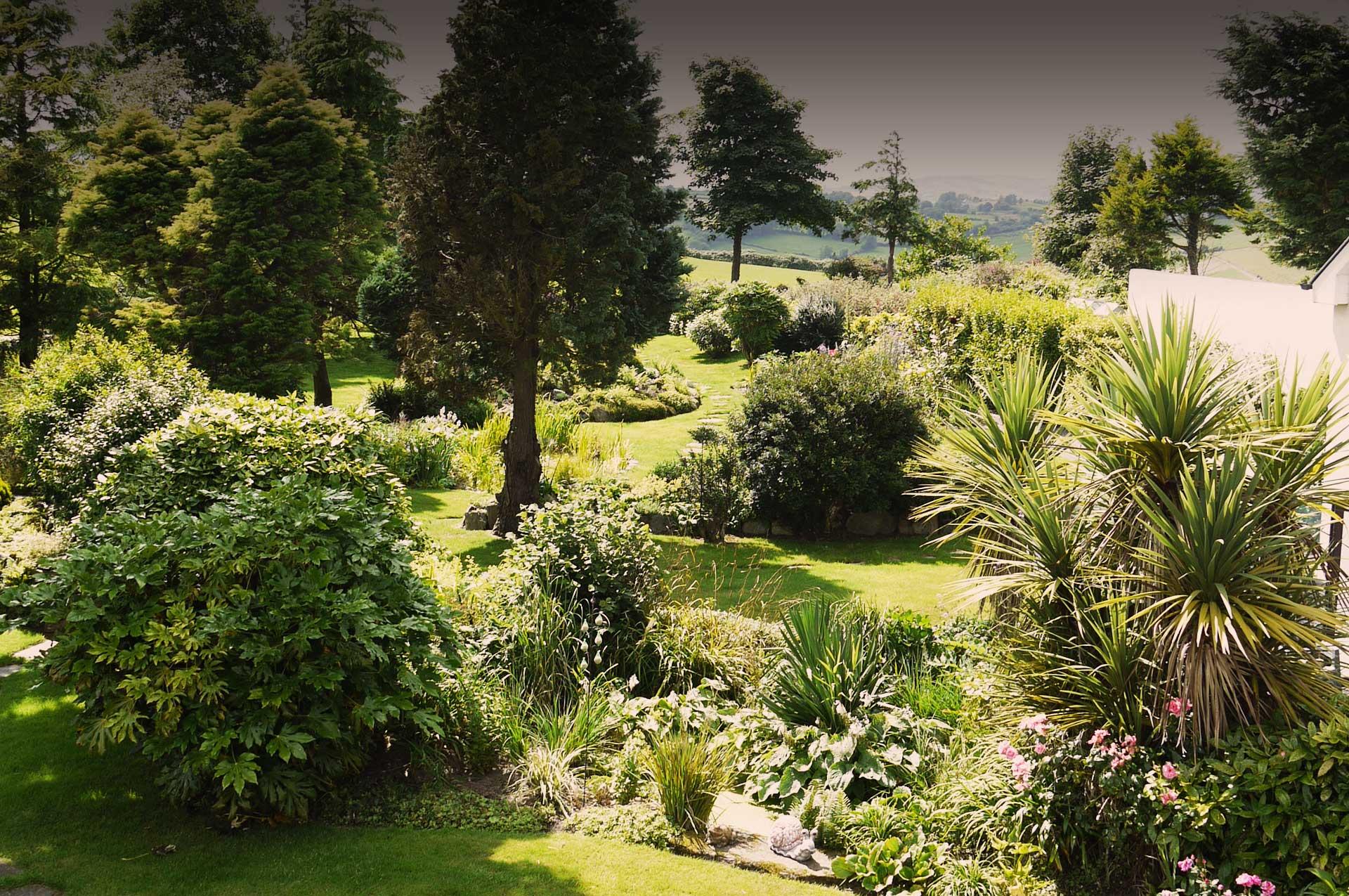 Incroyable Pine Tree Lodge Garden